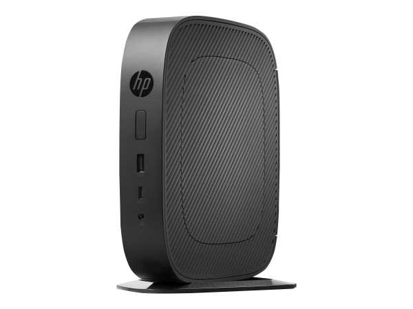 HP t530 - Thin Client - Tower - 1 x GX-215JJ 1.5 GHz - RAM 4 GB - Flash 16 GB - Radeon R2E - GigE -