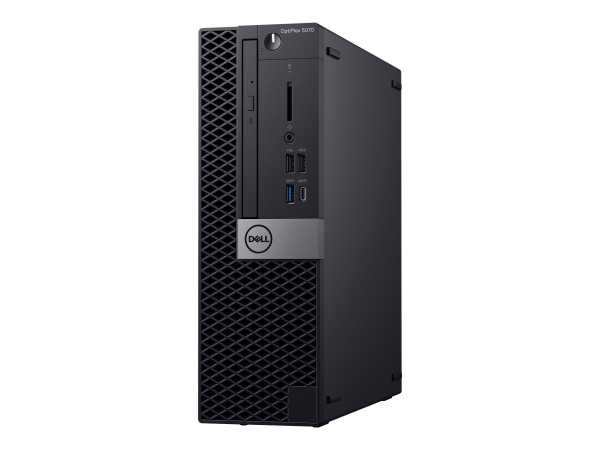 Dell OptiPlex 5070 - SFF - Core i7 9700 / 3 GHz - RAM 8 GB - SSD 256 GB - DVD-Writer - UHD Graphics