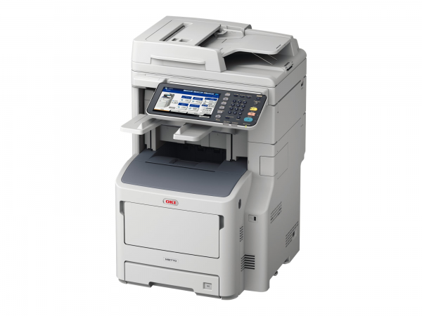 OKI MB770dnvfax - Multifunktionsdrucker - s/w - LED - A4 (210 x 297 mm)