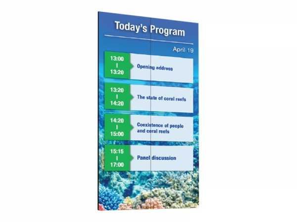"Sharp PN-V701 - 177.8 cm (70"") Klasse (176.5 cm (69.5"") sichtbar) LED-Display - Digital Signage - 10"