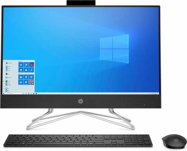 HP 24-df0006nw. Produkttyp: All-in-One-PC. Bildschirmdiagonale: 60,5 cm (23.8 Zoll), HD-Typ: Full HD