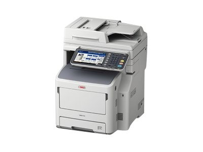 OKI MB760dnfax - Multifunktionsdrucker - s/w - LED - A4 (210 x 297 mm)