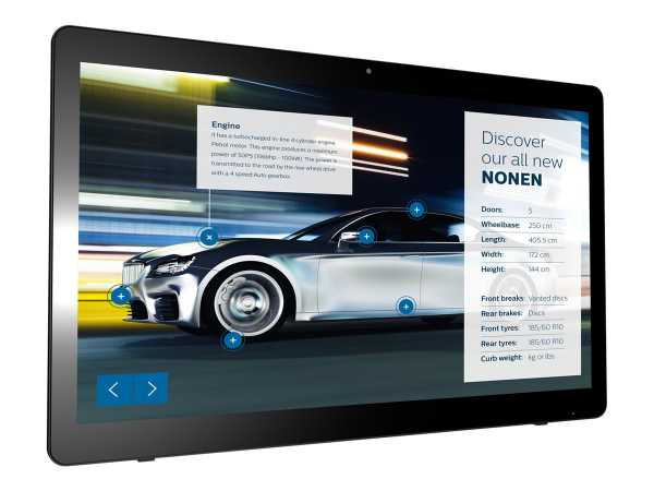 """Philips Signage Solutions 24BDL4151T - 61 cm (24"""") 24BDL4151T/00"""
