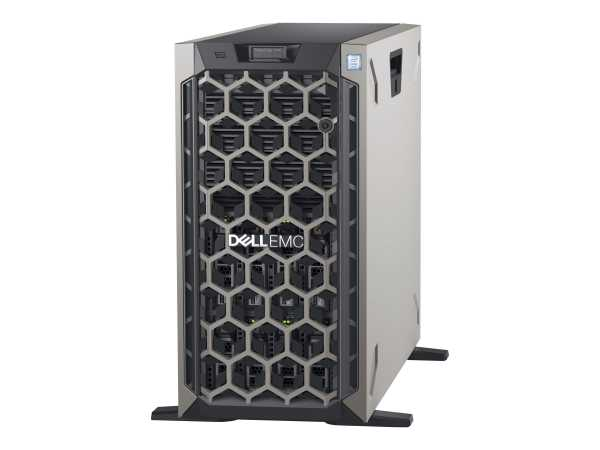 Dell EMC PowerEdge T440 - Server - Tower - 5U - zweiweg - 1 x Xeon Silver 4208 / 2.1 GHz - RAM 16 GB