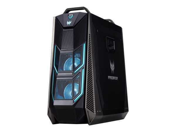 Acer Predator Orion 9000 PO9-600 - Tower - Core i9 9900K / 3.6 GHz - RAM 32 GB - SSD 512 GB, HDD 1 T