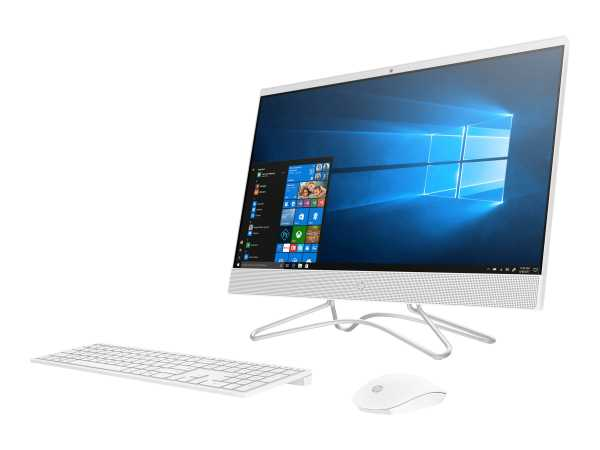 HP 24-f0300ng - All-in-One (Komplettlösung) - Core i3 9100T / 3.1 GHz - RAM 8 GB - SSD 512 GB - NVMe