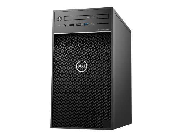 Dell 3640 Tower - MT - 1 x Core i7 10700 / 2.9 GHz - RAM 8 GB - HDD 1 TB - DVD-Writer - UHD Graphics