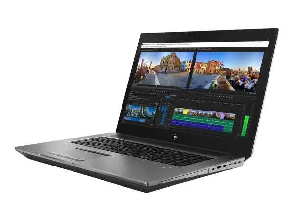 HP ZBook 17 G5 Mobile Workstation - Core i7 8850H / 2.6 GHz - Win 10 Pro 64-Bit - 32 GB RAM - 512 GB