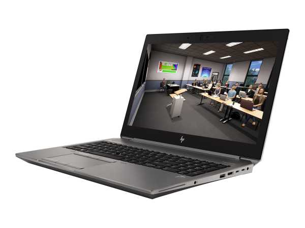 HP ZBook 15 G6 Mobile Workstation - Core i7 9850H / 2.6 GHz - Win 10 Pro 64-Bit - 16 GB RAM - 512 GB