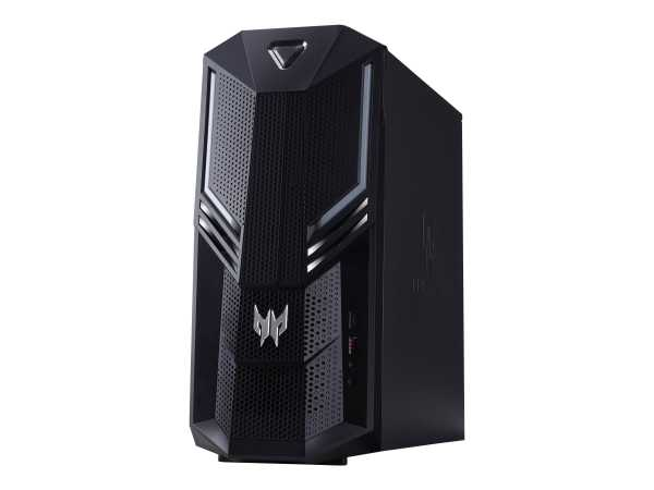 Acer Predator Orion 3000 PO3-600 - Tower - Core i5 9400 / 2.9 GHz - RAM 16 GB - SSD 256 GB, HDD 1 TB