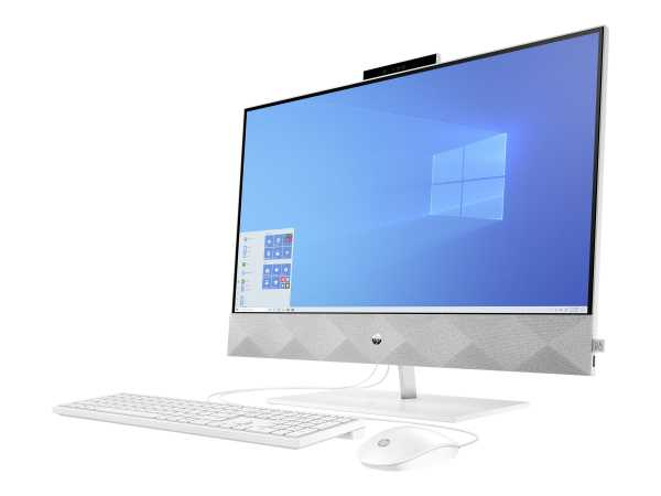 HP Pavilion 27-d0303ng - All-in-One (Komplettlösung) - Core i5 10400T / 2 GHz - RAM 8 GB - SSD 256 G
