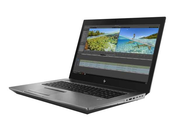 HP ZBook 17 G6 Mobile Workstation - Core i7 9850H / 2.6 GHz - Win 10 Pro 64-Bit - 16 GB RAM - 512 GB