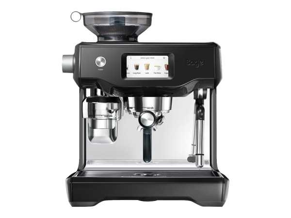 Sage SES990BKS4EEU1 the Oracle Touch - Kaffeemaschine mit Cappuccinatore - 15 bar - black sesame