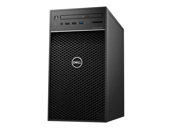 Dell Precision 3640 Tower - MT - 1 x Core i5 10500 / 3.1 GHz - RAM 8 GB - HDD 1 TB - DVD-Writer - UH