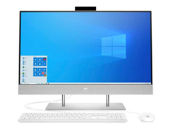 HP 27-dp0023ng - All-in-One (Komplettlösung) - Core i7 1065G7 / 1.3 GHz - RAM 8 GB - SSD 512 GB - NV